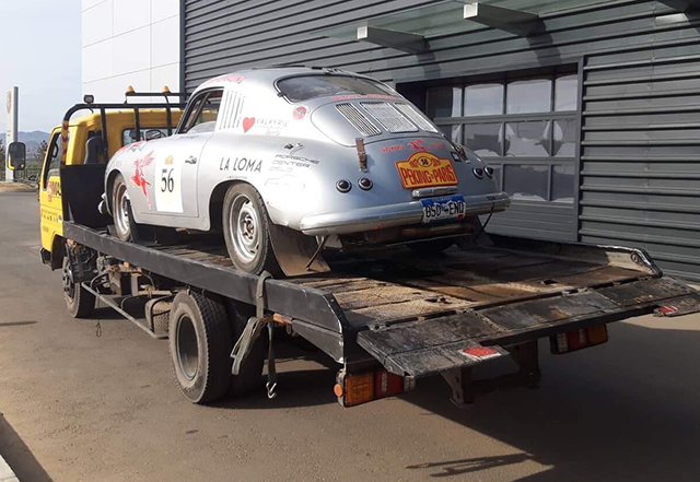 a porsche all loaded to go
