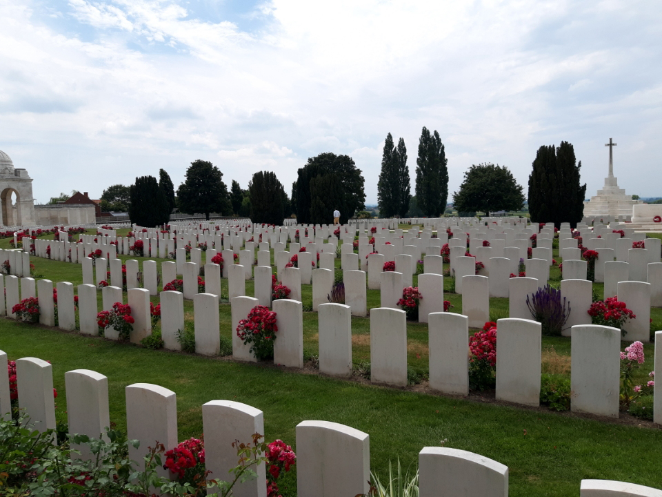WWI Ypres Cemetery